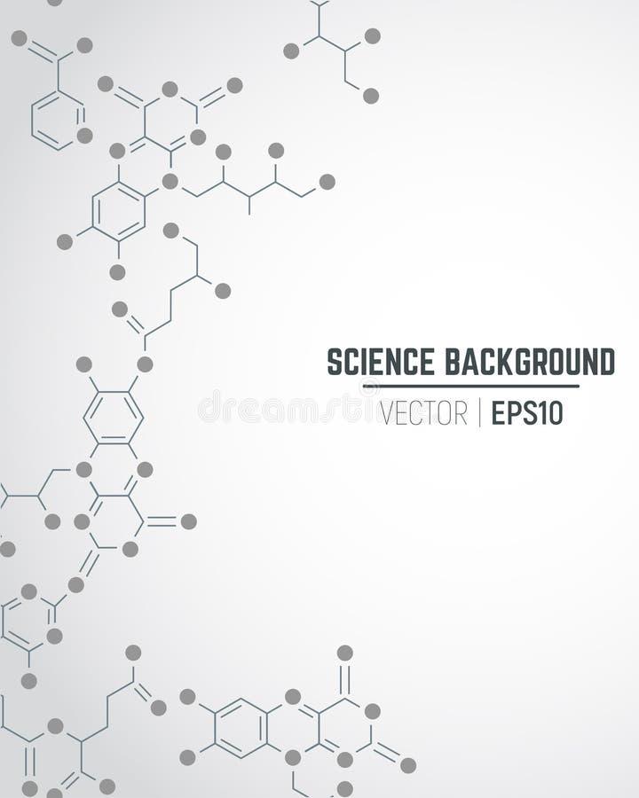 Fondo de la ciencia libre illustration