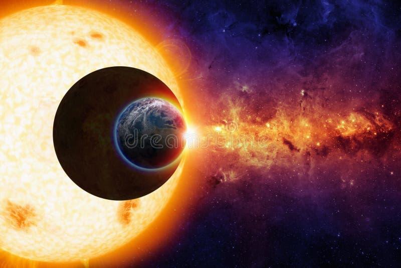 Fondo de la ciencia ficción imágenes de archivo libres de regalías