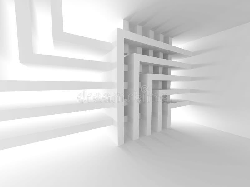 Fondo de la configuración Papel pintado del diseño interior fotos de archivo