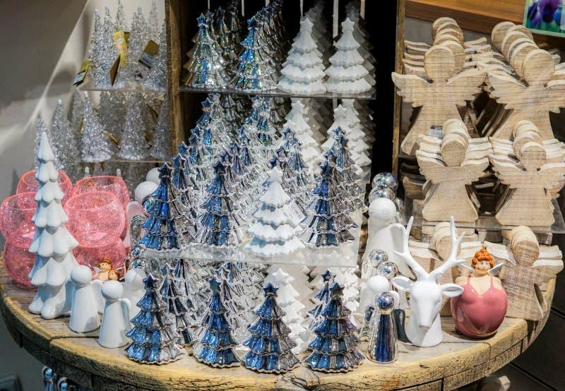 Fondo de la decoración de la Navidad foto de archivo