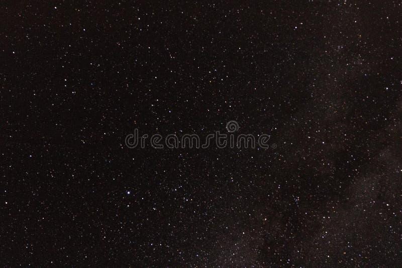 Fondo de la estrella de la galaxia de la fotografía astronómica para la astronomía, el espacio o el cosmos, un universo del cielo fotografía de archivo libre de regalías