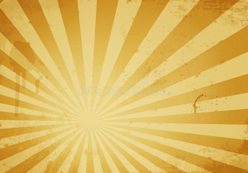 Fondo de la explosión de la estrella de Grunge ilustración del vector