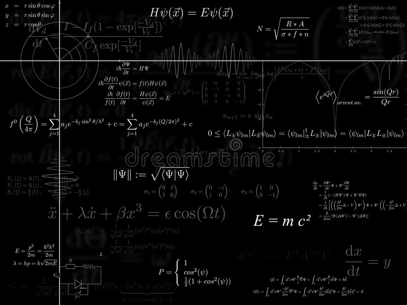 Fondo de la física libre illustration