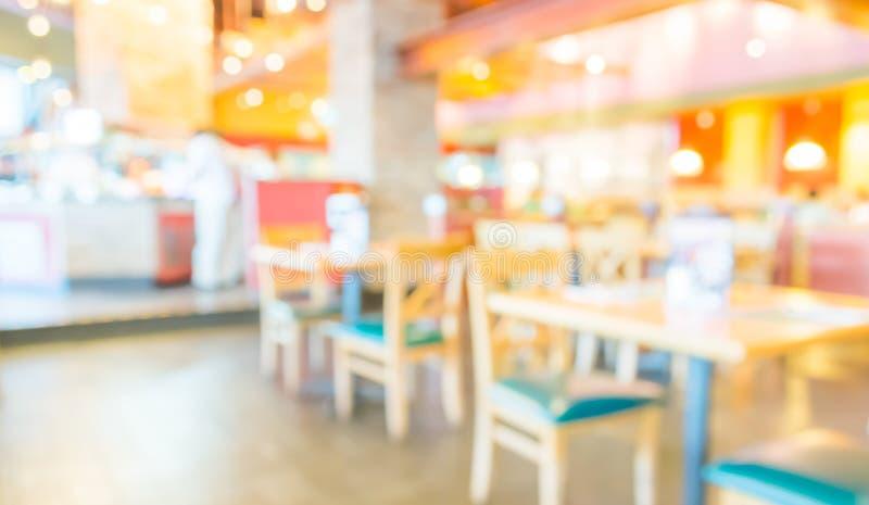 fondo de la falta de definición de la cafetería con imagen del bokeh imagen de archivo