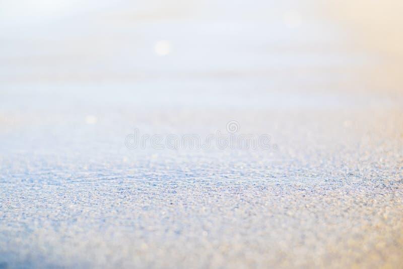 Fondo de la falta de definición del extracto de la playa y de la arena fotos de archivo libres de regalías