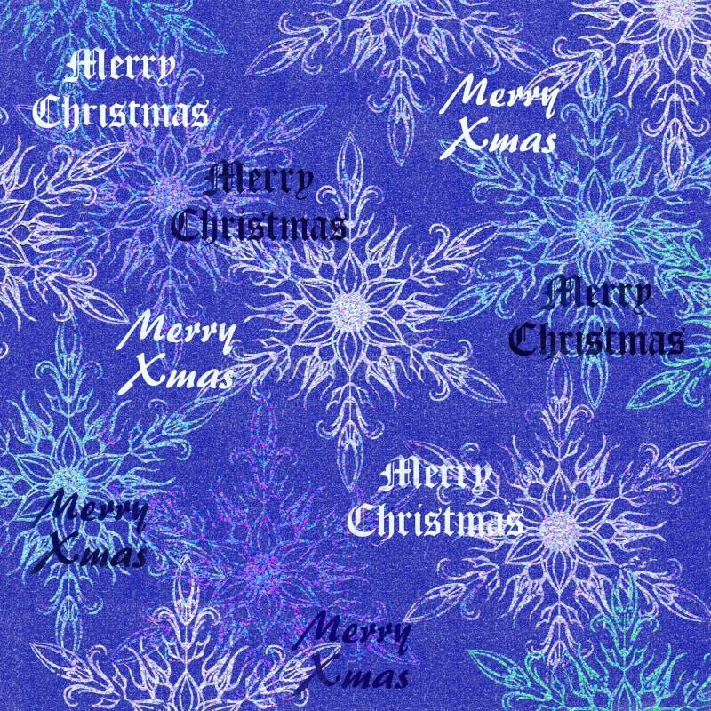 Fondo de la Feliz Navidad stock de ilustración