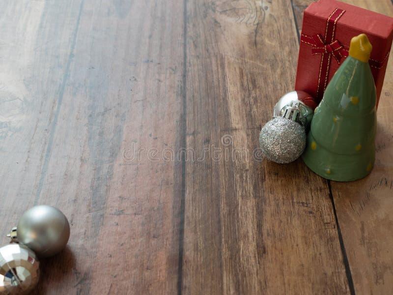 Fondo de la Feliz Navidad o papel pintado del árbol de navidad foto de archivo libre de regalías