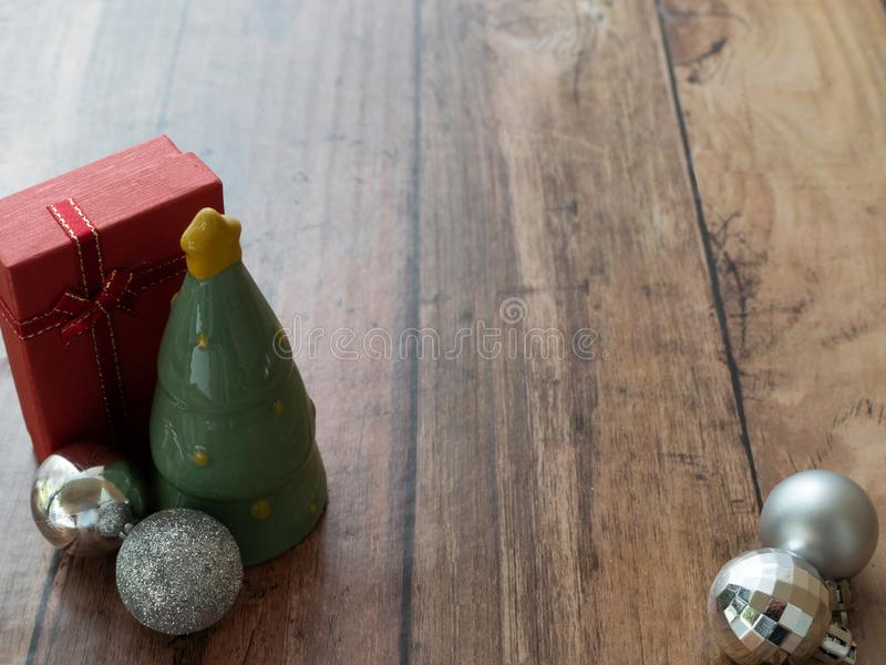 Fondo de la Feliz Navidad o papel pintado del árbol de navidad fotografía de archivo libre de regalías