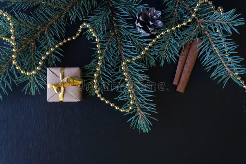 Fondo de la Feliz Navidad y de la Feliz Año Nuevo fotografía de archivo
