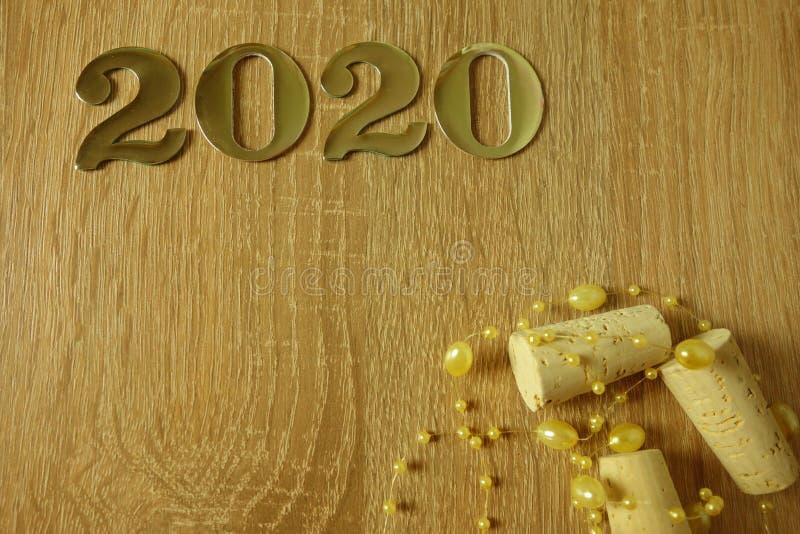 Fondo 2020 de la Feliz A?o Nuevo fotografía de archivo