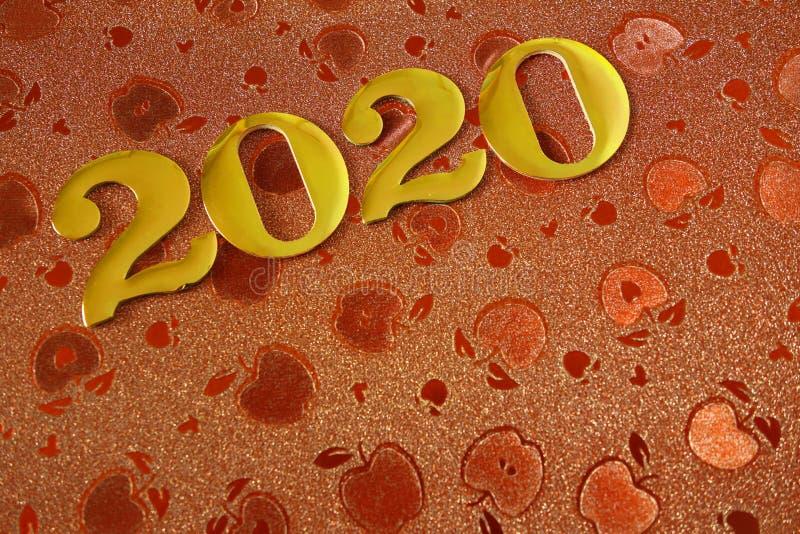 Fondo 2020 de la Feliz A?o Nuevo fotos de archivo libres de regalías
