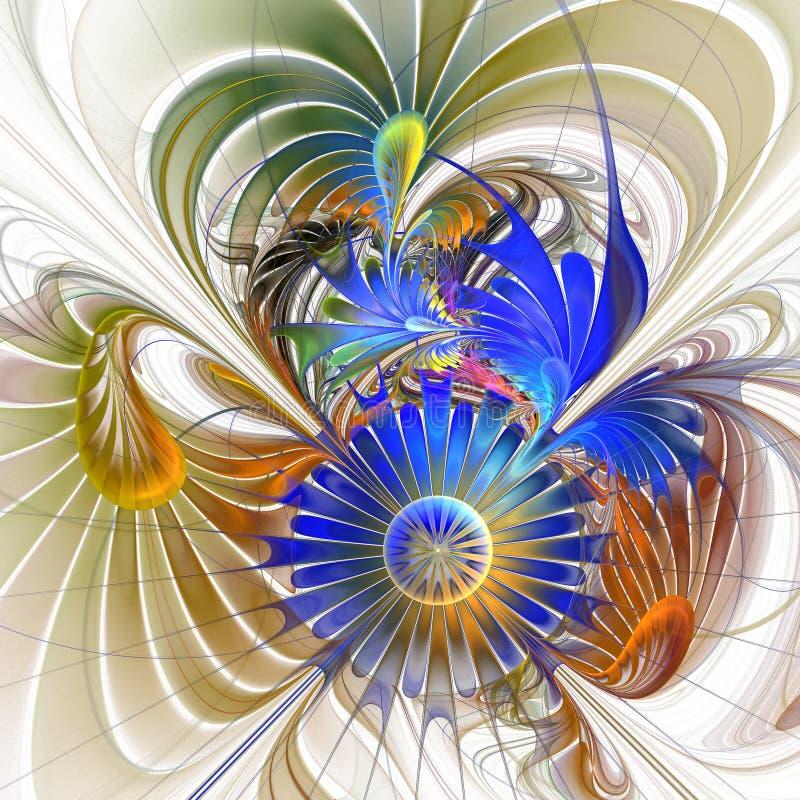 Fondo de la flor. ilustración del vector