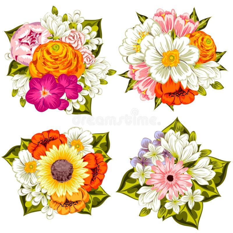 Fondo de la flor fresca libre illustration