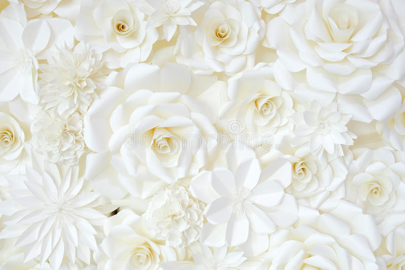 Fondo de la flor papel-plegable fotografía de archivo libre de regalías