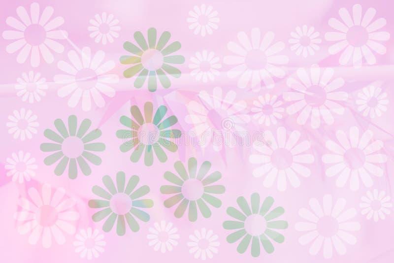 Fondo de la flora de la flor fotografía de archivo