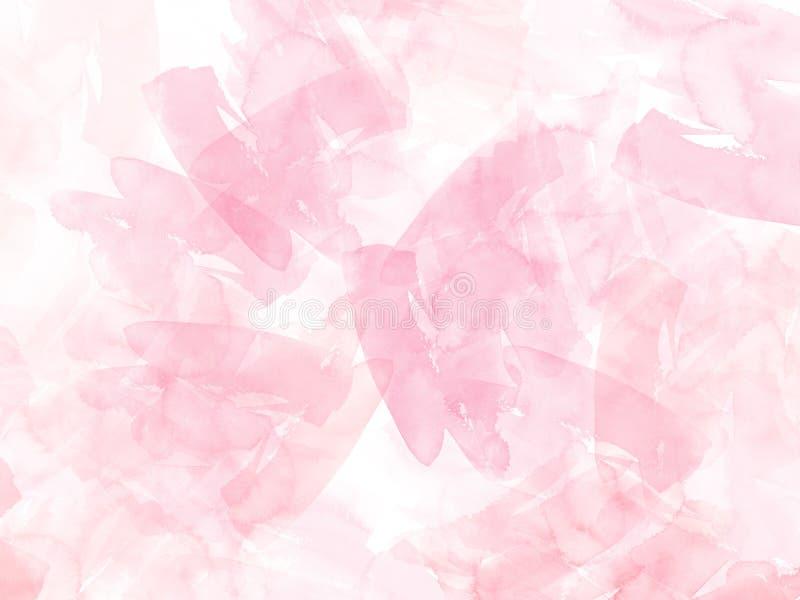Fondo de la forma del ejemplo colorido de la acuarela y contexto de pintura de la textura stock de ilustración