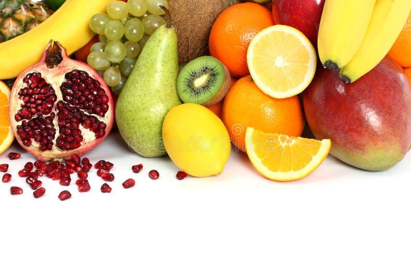 Fondo de la fruta fotografía de archivo