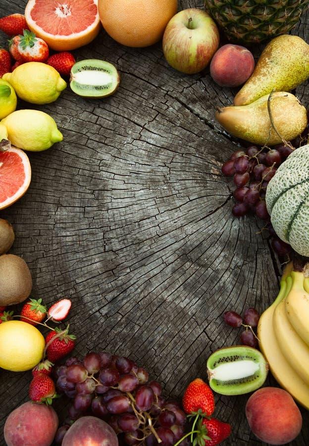 Fondo de la fruta imagen de archivo