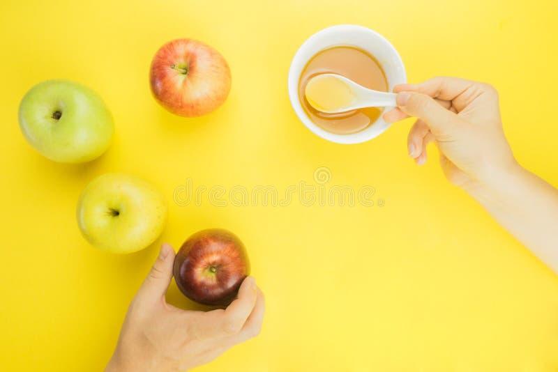 Fondo de la fruta fresca para Rosh Hashanah fotografía de archivo libre de regalías