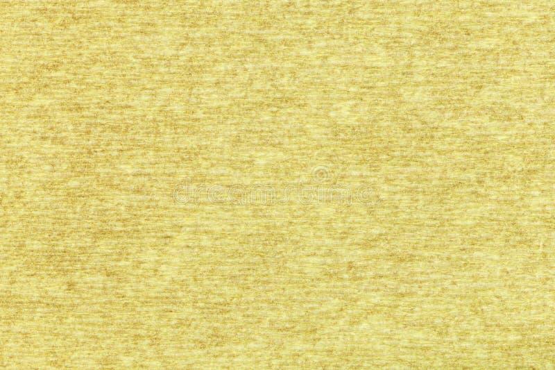 Fondo de la hoja del papel de embalaje amarillo fotos de archivo libres de regalías