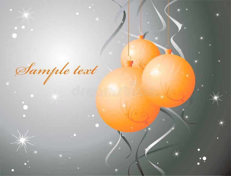 Download Fondo De La Ilustración De La Navidad Ilustración del Vector - Ilustración de label, nuevo: 7151495