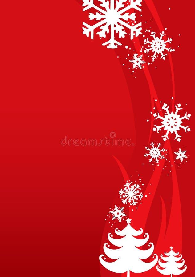 Fondo de la ilustración de la Navidad/del Año Nuevo stock de ilustración