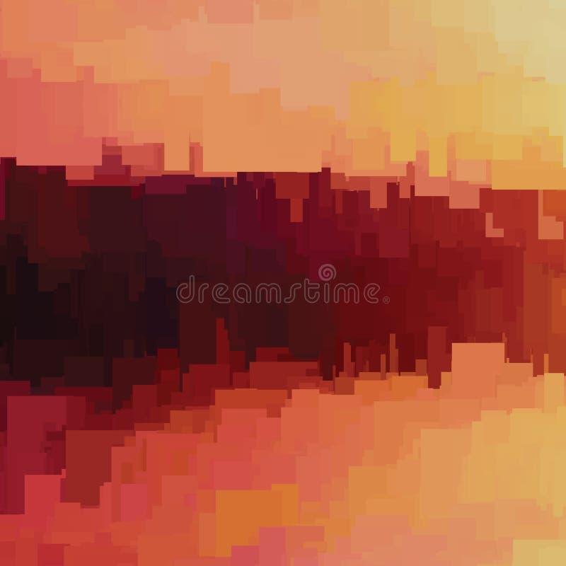 Fondo de la interferencia del vector Distorsión de los datos de imagen de Digitaces Fondo abstracto colorido para sus diseños libre illustration