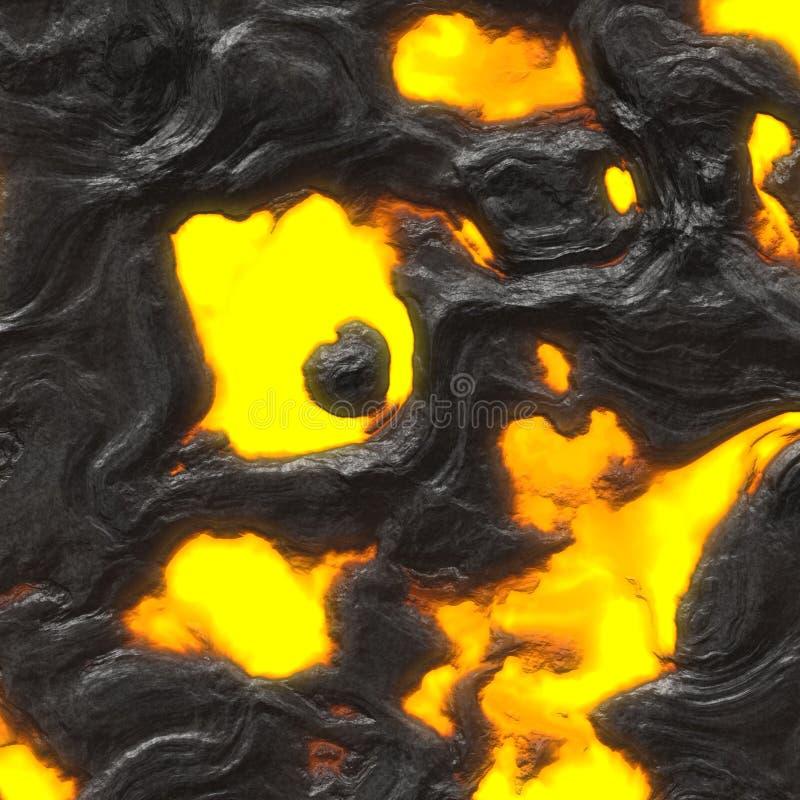 Fondo de la lava stock de ilustración