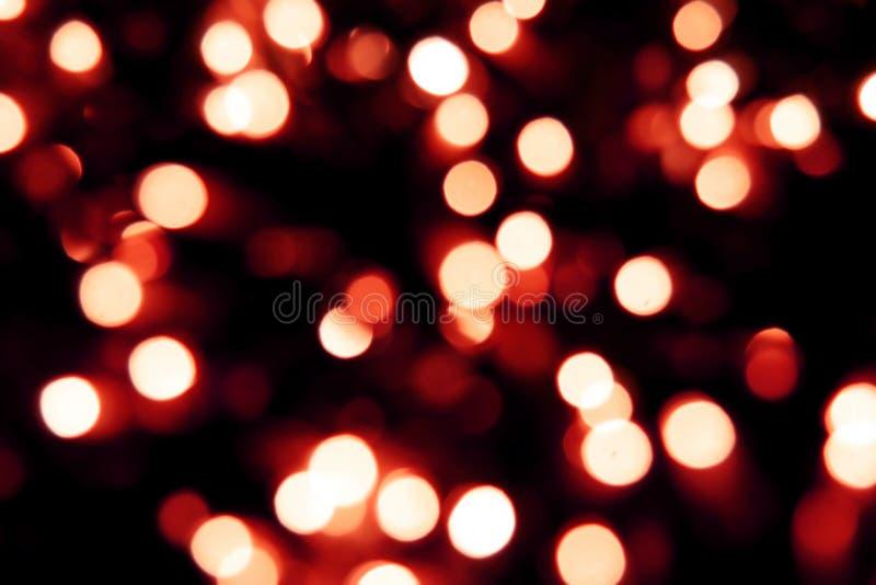 Fondo de la luz de la Navidad fotografía de archivo libre de regalías