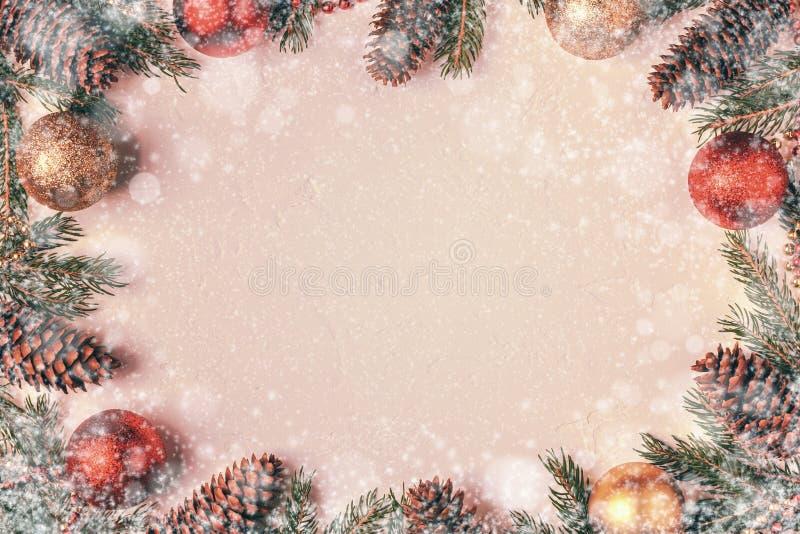 Fondo de la luz de la Navidad imagen de archivo