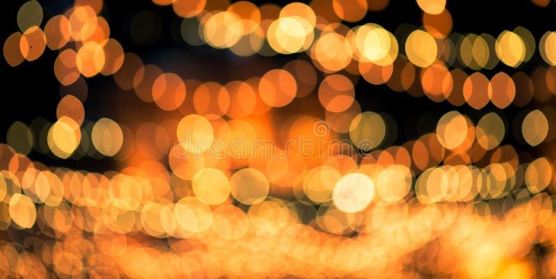 Fondo de la luz y de Bokeh fotos de archivo