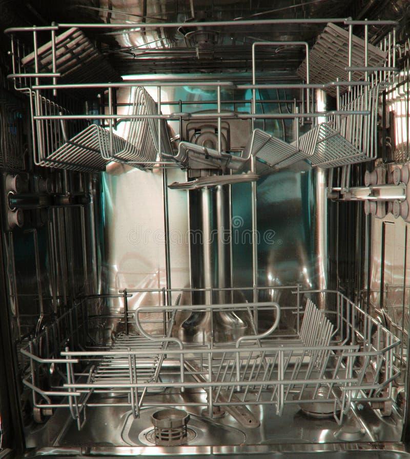 fondo de la máquina del lavaplatos fotos de archivo