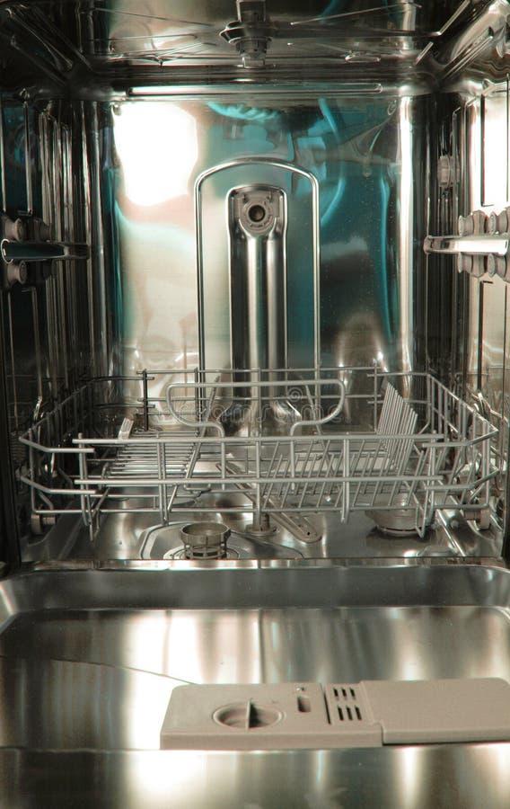 fondo de la máquina del lavaplatos fotografía de archivo