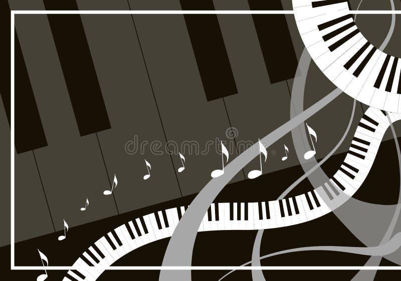Fondo de la música ilustración del vector