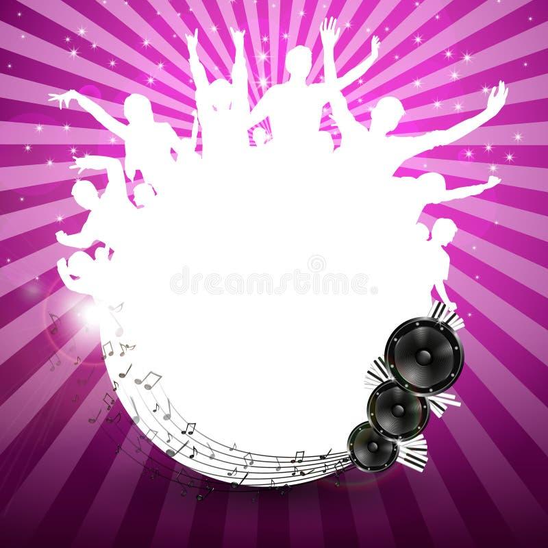 Fondo de la música - vector libre illustration