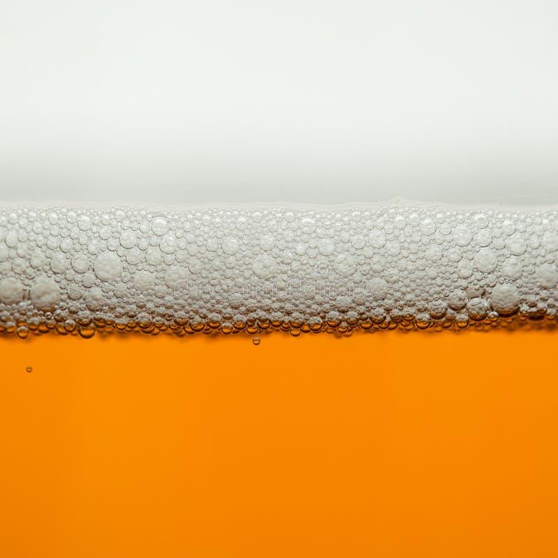 Fondo de la macro de la cerveza foto de archivo libre de regalías