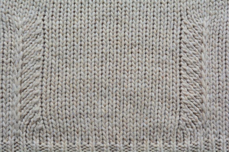 Fondo de la materia textil de las lanas que hace punto imagen de archivo libre de regalías