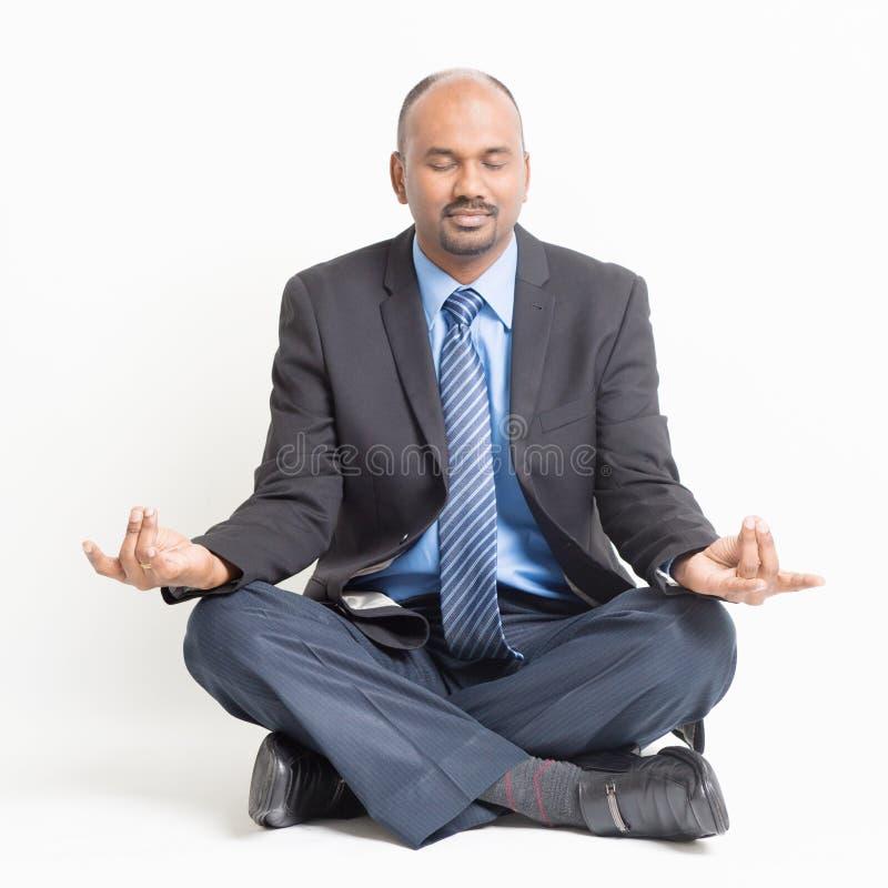 Fondo de la meditación fotografía de archivo libre de regalías
