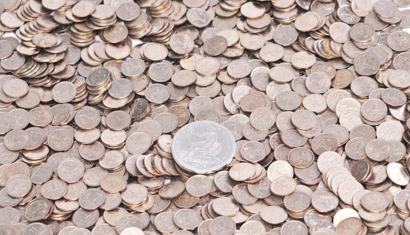 Fondo De La Moneda Fotos de archivo