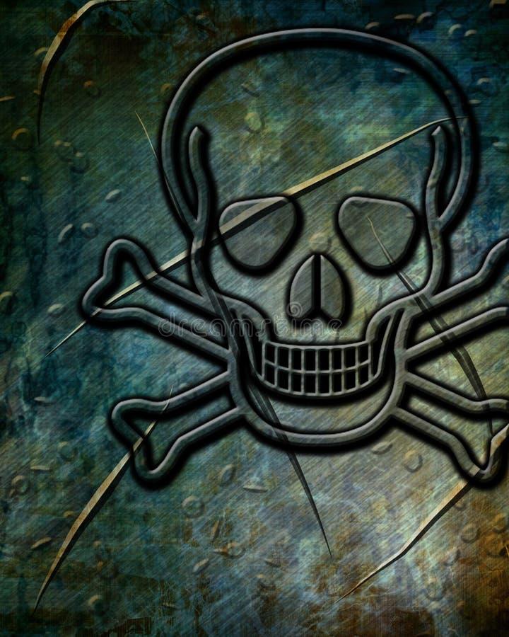 Fondo de la muestra del veneno libre illustration