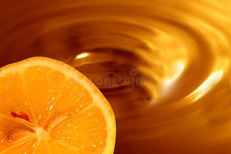 Fondo de la naranja del chocolate fotos de archivo libres de regalías