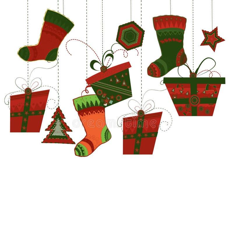 Download Fondo de la Navidad ilustración del vector. Imagen de regalo - 16808630