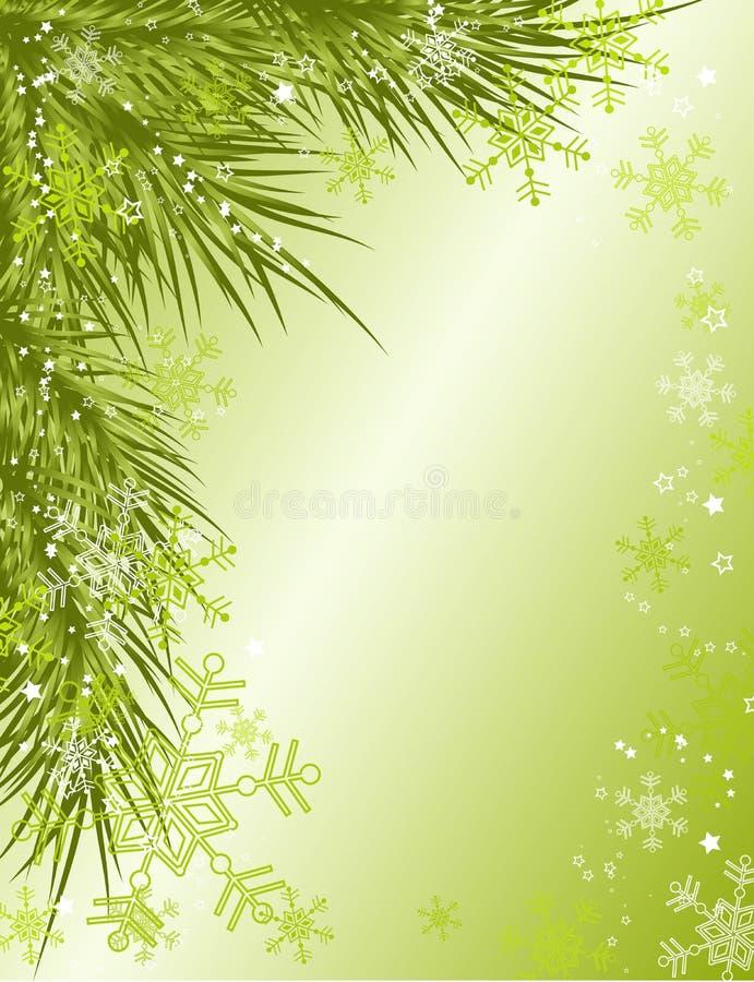 Fondo de la Navidad,   stock de ilustración