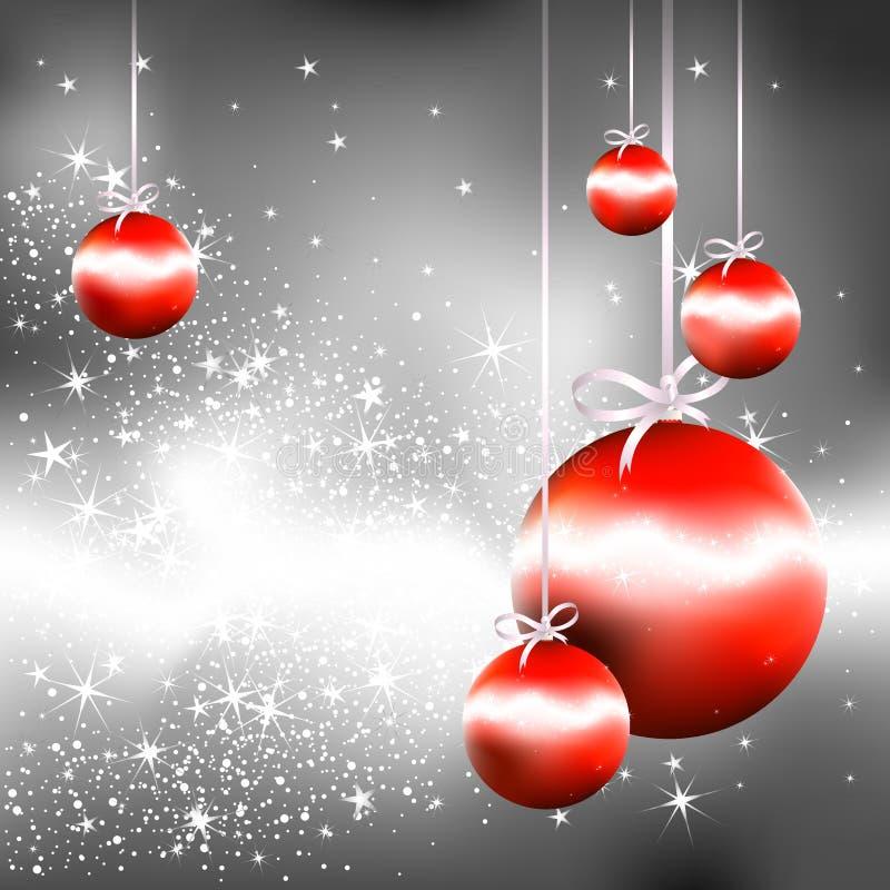 Fondo de la Navidad ilustración del vector