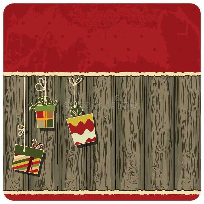 Fondo de la Navidad. imagen de archivo