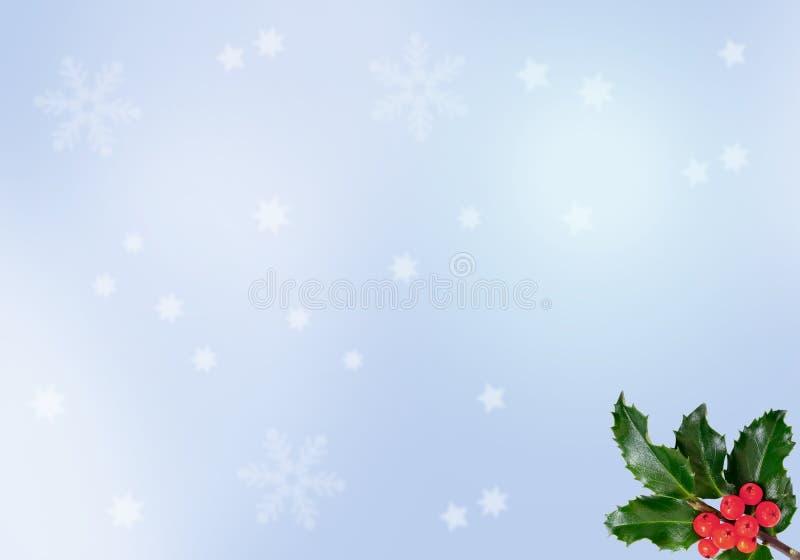 Fondo de la Navidad de Blure ilustración del vector