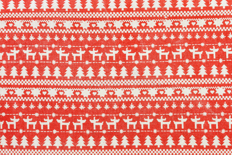 Fondo de la Navidad de la materia textil con diseño escandinavo ilustración del vector