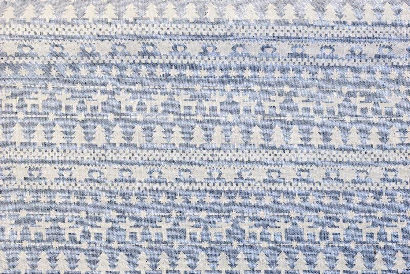 Fondo de la Navidad de la materia textil con diseño escandinavo stock de ilustración