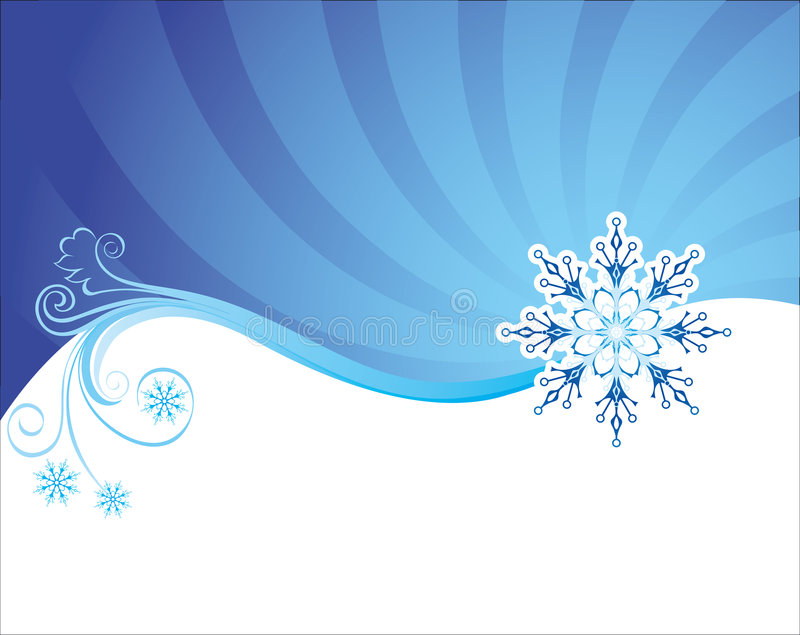 Fondo de la Navidad del invierno libre illustration