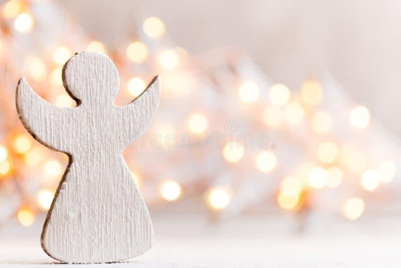 Fondo de la Navidad del vintage con la decoración de la Navidad fotografía de archivo libre de regalías